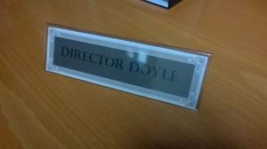 El cartell del director